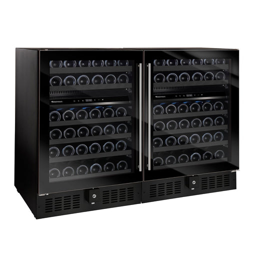 N'FINITY Double S Dual Zone Wine Cellar (Edge-To-Edge Glass Door)