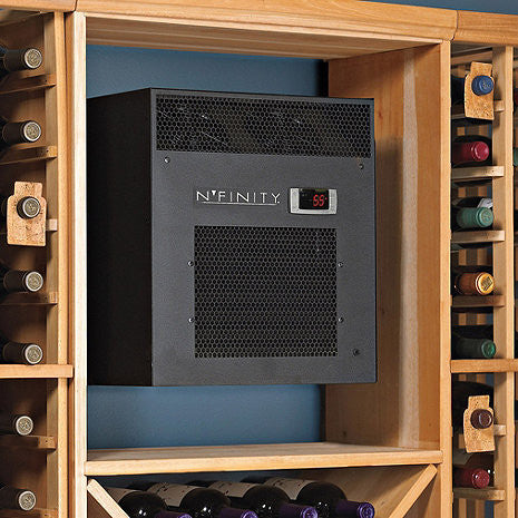 Nu0027FINITY 3000 Wine Cellar Cooling Unit (Max Room Size u003d 650 Cu. & Nu0027FINITY 3000 Wine Cellar Cooling Unit (Max Room Size u003d 650 Cu. Ft ...