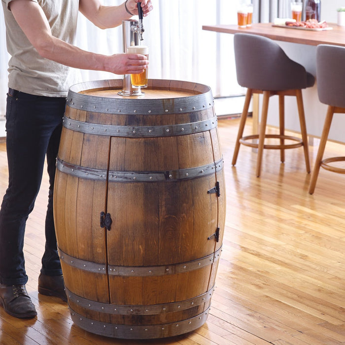 Recycled Wine Barrel Kegerator - 327 66 87