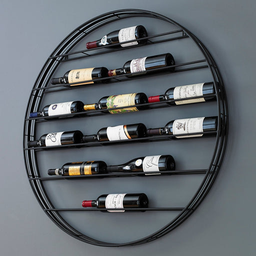 Label Forward Wall Wine Rack