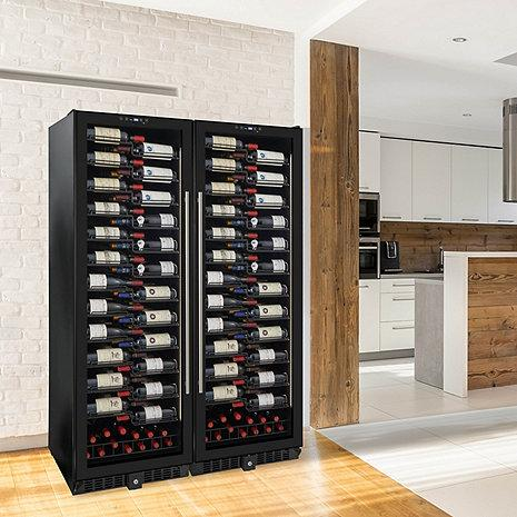 Wine Enthusiast VinoView 310-Bottle Double Wine Cellar 269 03 888