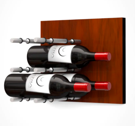 Fusion Wine Wall Panel (Label Forward)—Medium Finish (9 Bottles)