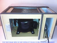 **Modified with Top Venting WKCE 2200 - Wine Cooler Plus