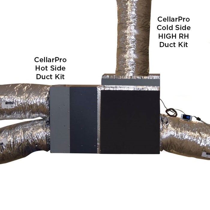CellarPro 6200/8200 VS Duct KIT (Cold Side) Low RH #14680