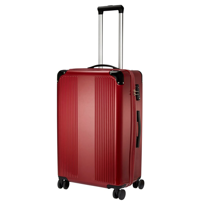TSA-Approved 12-Bottle Wine Suitcase with Integrated Weight Scale