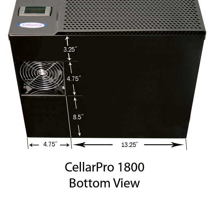 CellarPro 1800QT Cooling Unit (up to 150 cubic feet)