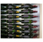 Fusion Wine Wall Panel (Label Forward) - Alumasteel (3 Bottles)