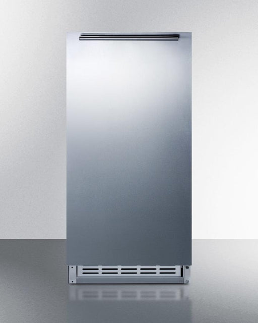 "Summit 15.18"" Stainless Steel Built In Ice Maker BIM25H32"