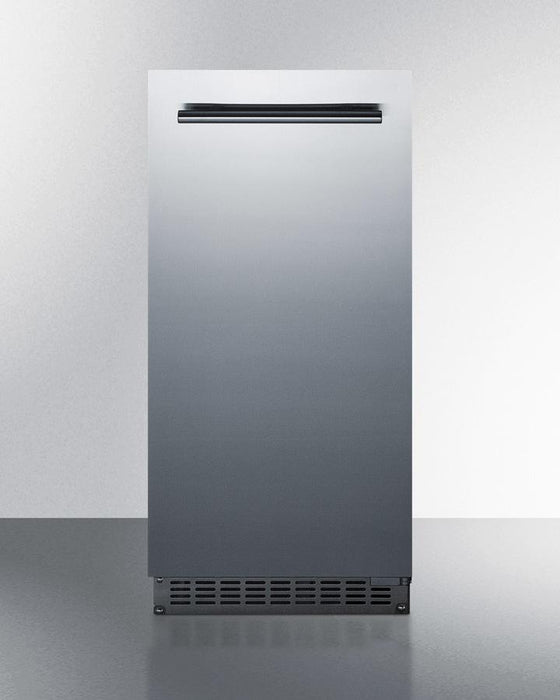 "Summit 14.88"" Slim Fitting Built In Ice Maker BIM68OSGDR"