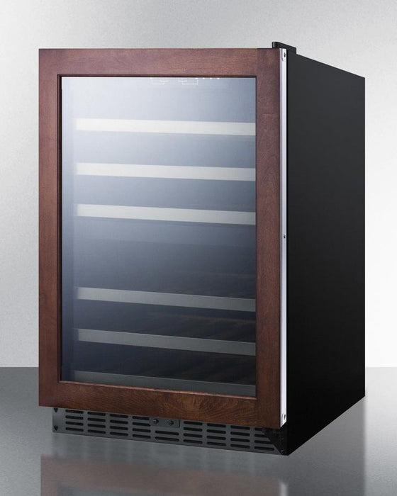 "Summit 24"" Dual Zone Built In Wine Cooler SWC532LBISTPNR"