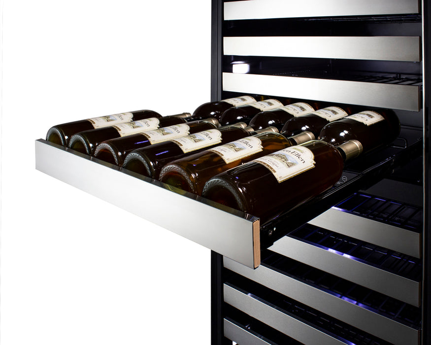 "Summit 24"" Wide Dual-Zone Wine Cellar SWCP2163"