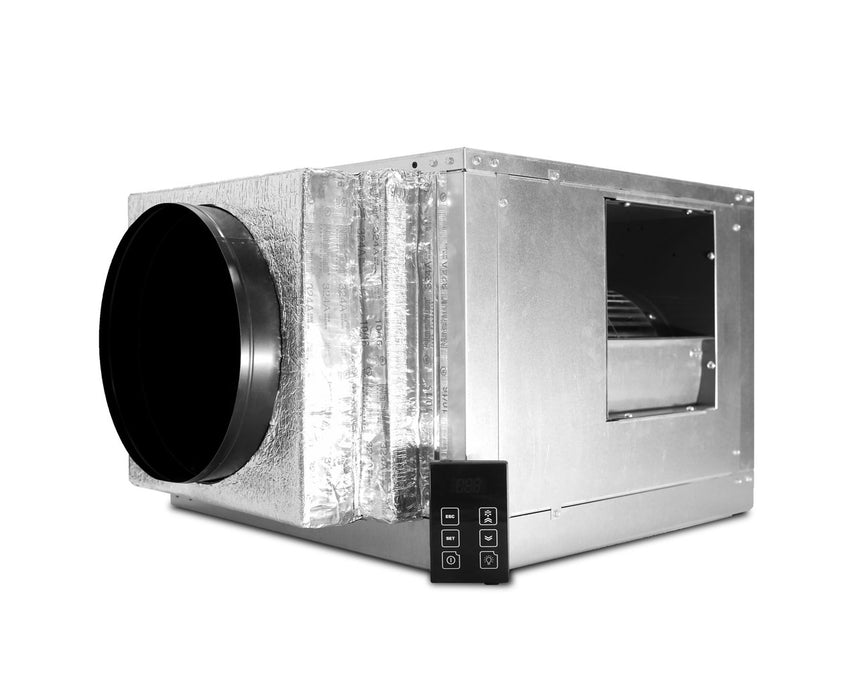 WhisperKOOL Quantum SS9000 Wine Cellar Cooling System Side View