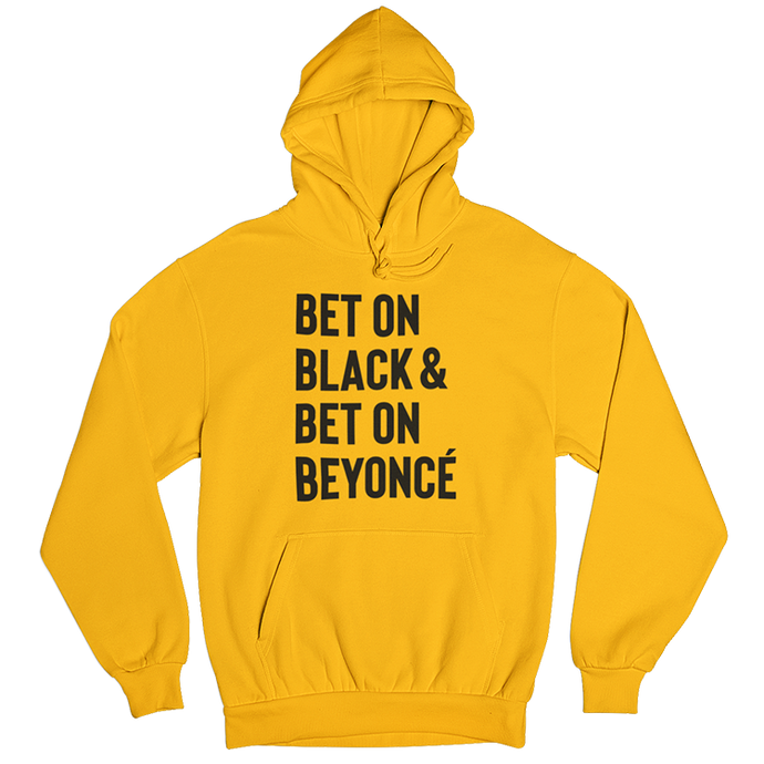 Always Bet on Black Hoodie - Stoop & Stank Tees