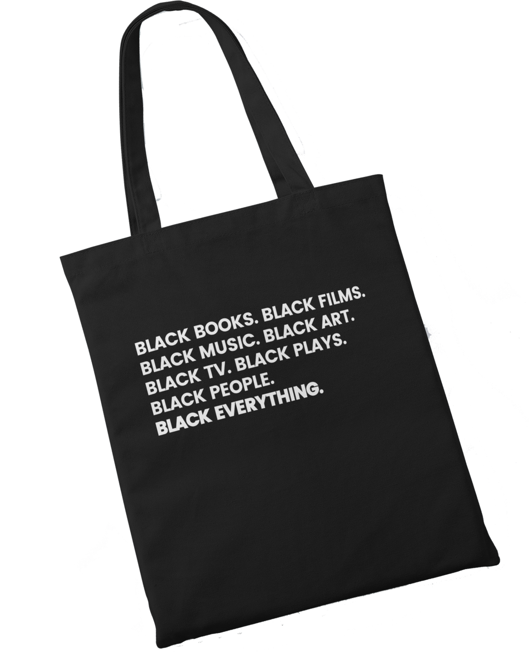 Black Everything Tote - Stoop & Stank Tees
