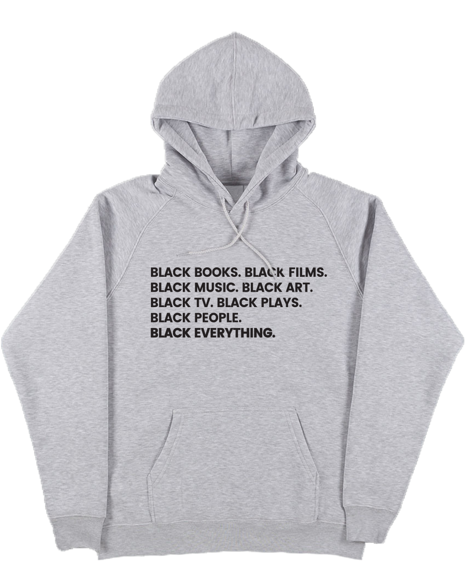 Black Everything Hoodie - Stoop & Stank Tees