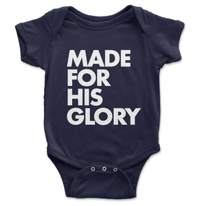 For His Glory Onesie