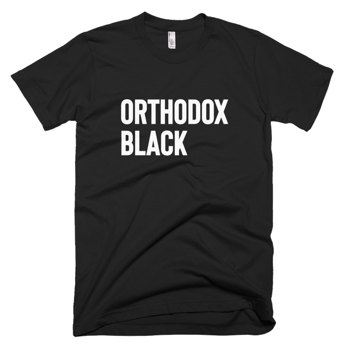 Orthodox Black - Stoop & Stank Tees
