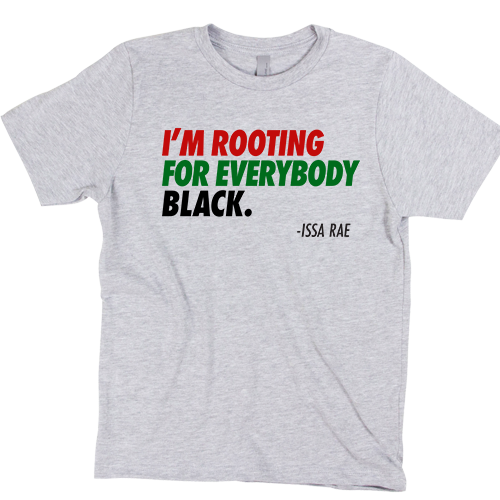 Rooting for Everybody Black--Kids - Stoop & Stank Tees