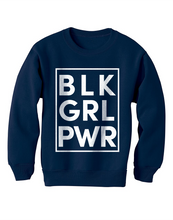 Black Girl Power Youth Sweatshirt - Stoop & Stank Tees
