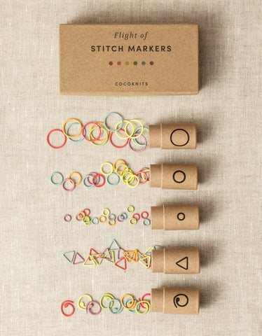Cocoknits Stitch Markers Flight