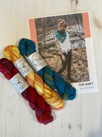 Age of Gold Kit 13 Magpie Fibers Swanky Sock #onpurpose/Adella is the Greatest