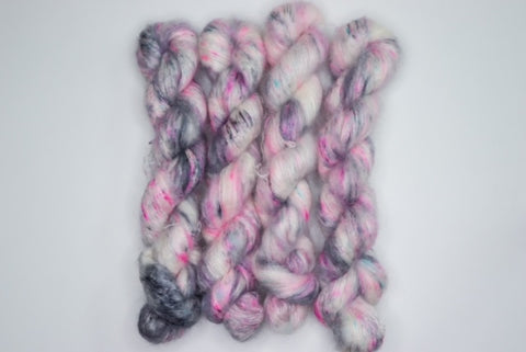 Sprinkled Fibers Mohair