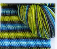 Bis-Sock Self Striping Sock Yarn