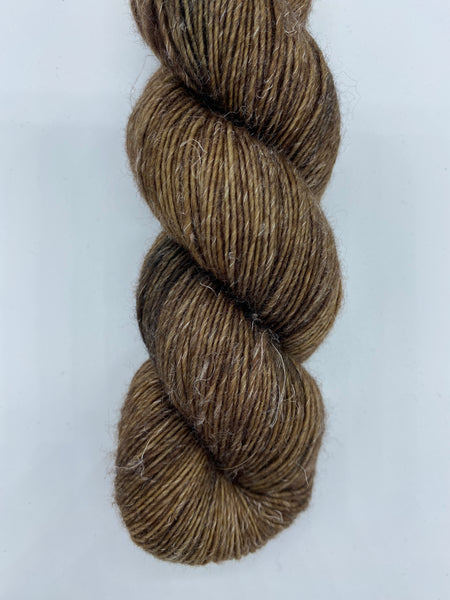 Twisted Willow Merino Linen Seal Brown
