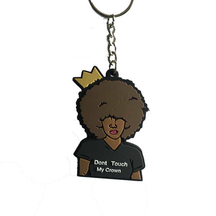 Dont Touch my Crown Keychain