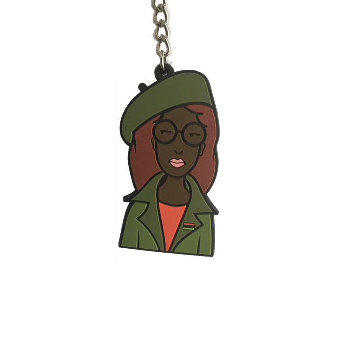 Zaria Activist Keychain *Read Description*