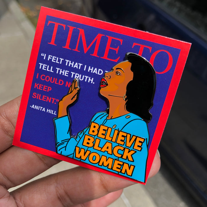 Believe Black Women Pin