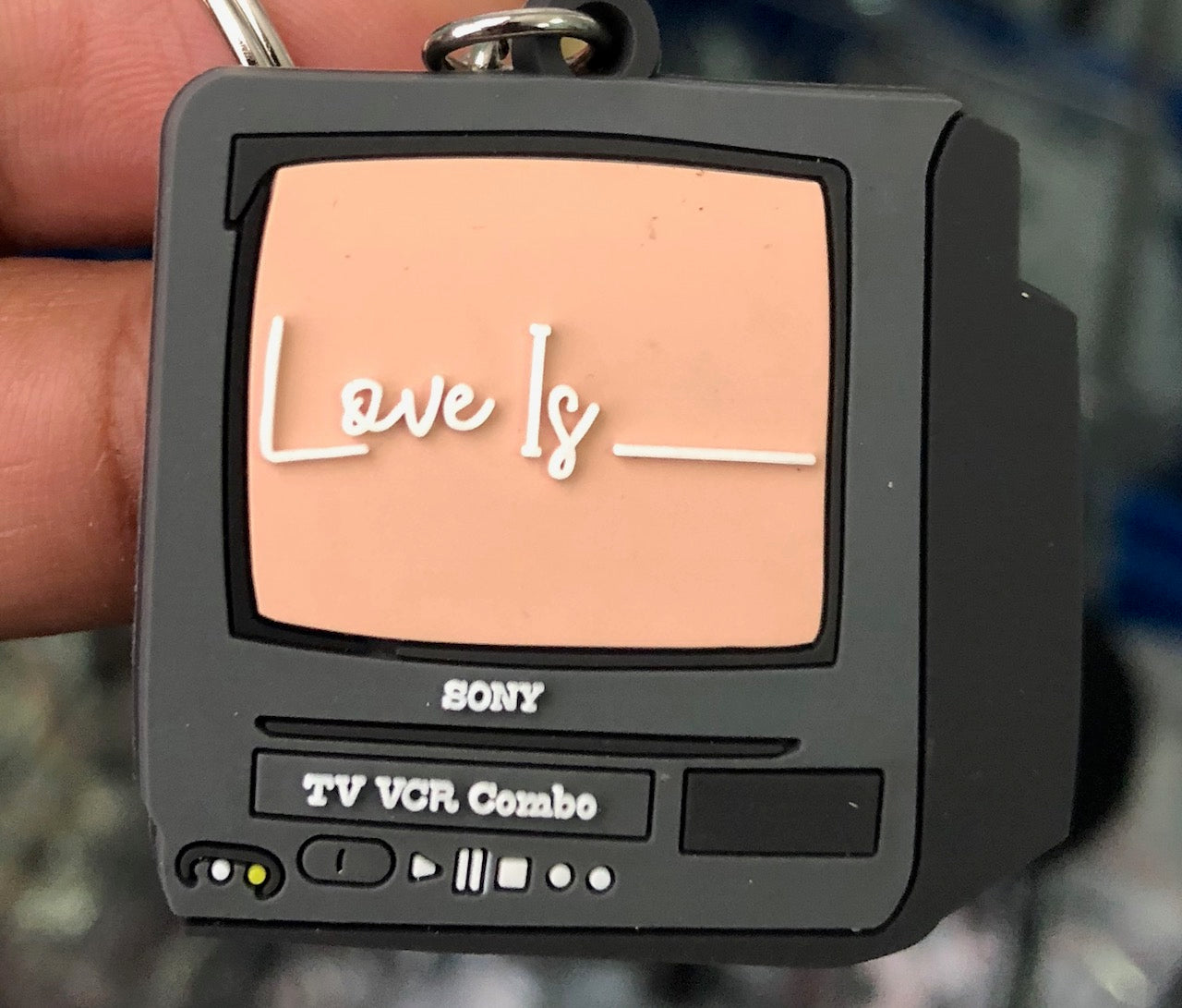 Love Is Keychain