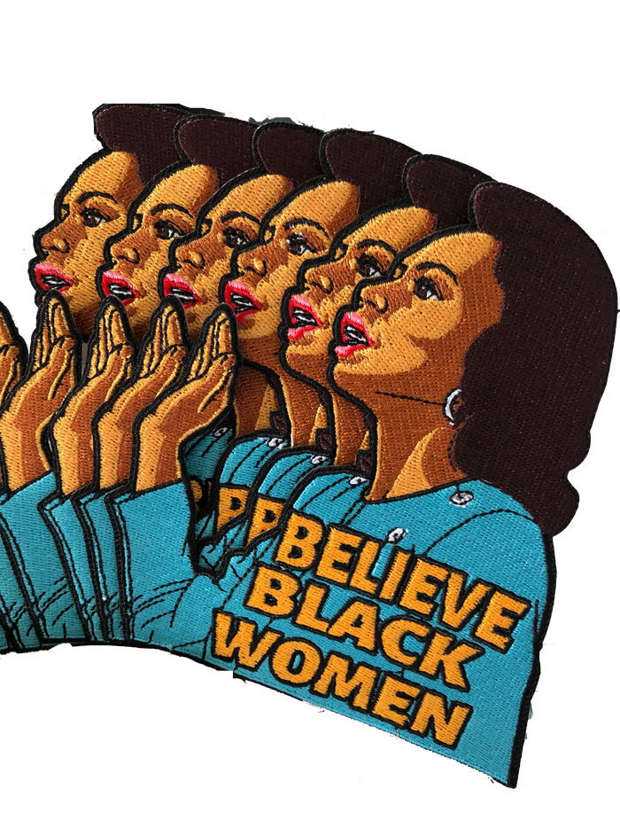 Believe Black Women Patch