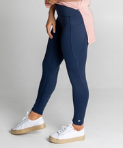 "The ""Movement"" Legging F/L (Navy)"