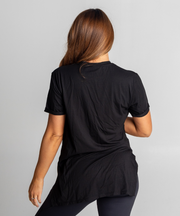 Tall Tees - Relaxed/longline (Black)