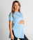 Tall Tees - Relaxed/longline (Sky Blue)