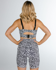 "The ""Cora Leopard"" Bike Shorts"