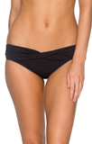 Black B14B Twist Band Swim Bottom