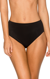 Black B30 High Wast Swim Bottom