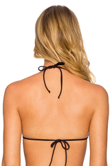 Black 63T Traditional Slider Triangle Bikini