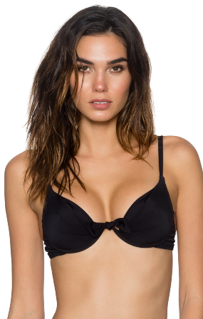 5f185cd2d Black 71T Underwire Bra Style Swim Top – YvettesVibe.com