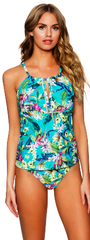 English Garden 87 T High Neck Tankini