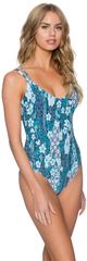 Vintage Blooms 112 Cross Back One Piece