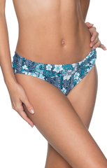 Vintage Blooms B27 Fold Over Banded Bottom
