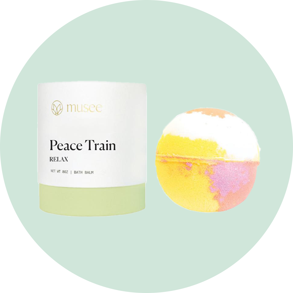 Musee Bath Bomb Peace Train