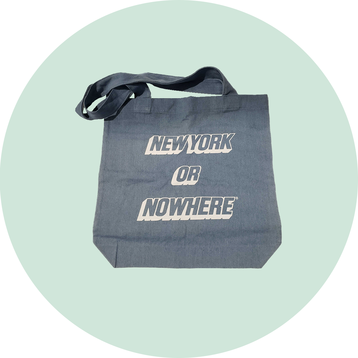 Knowlita New York or Nowhere Headlines Tote