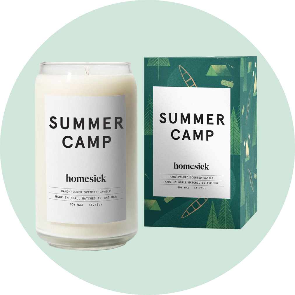 Homesick Summer Camp Candle