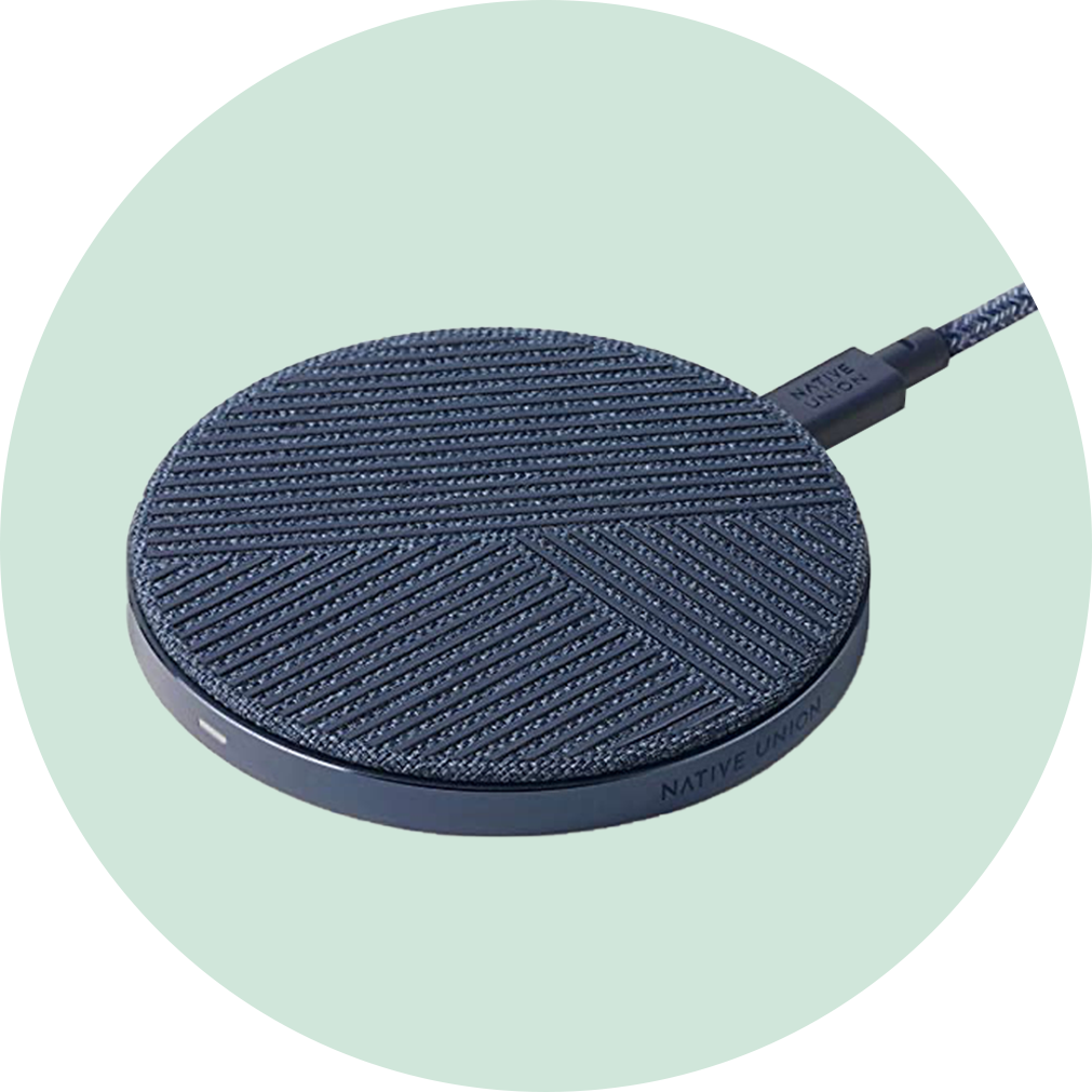 Native Union Drop Wireless Charger - Indigo
