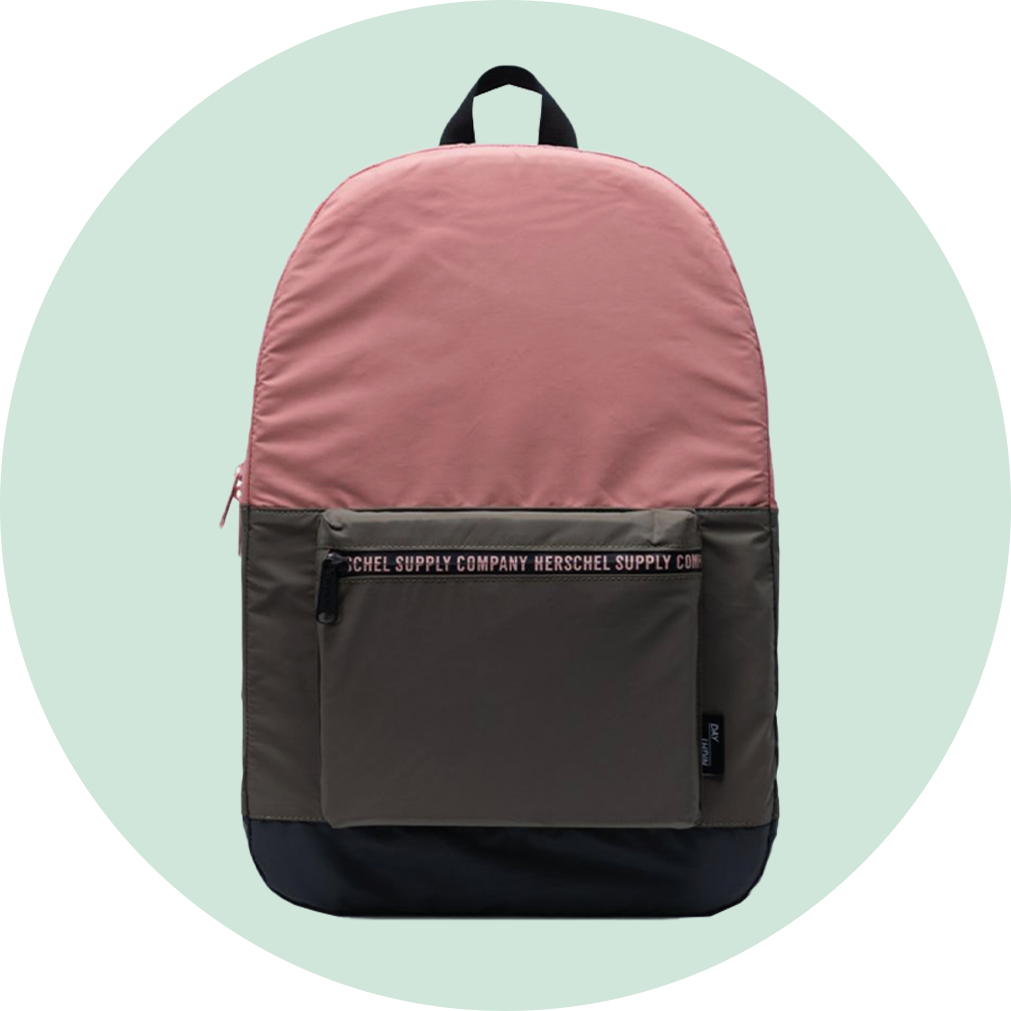 Herschel Packable Daypack - Reflective Pink