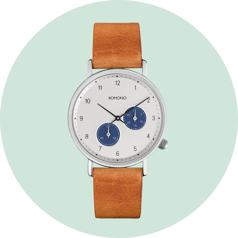 Komono Walther Watch - Camel